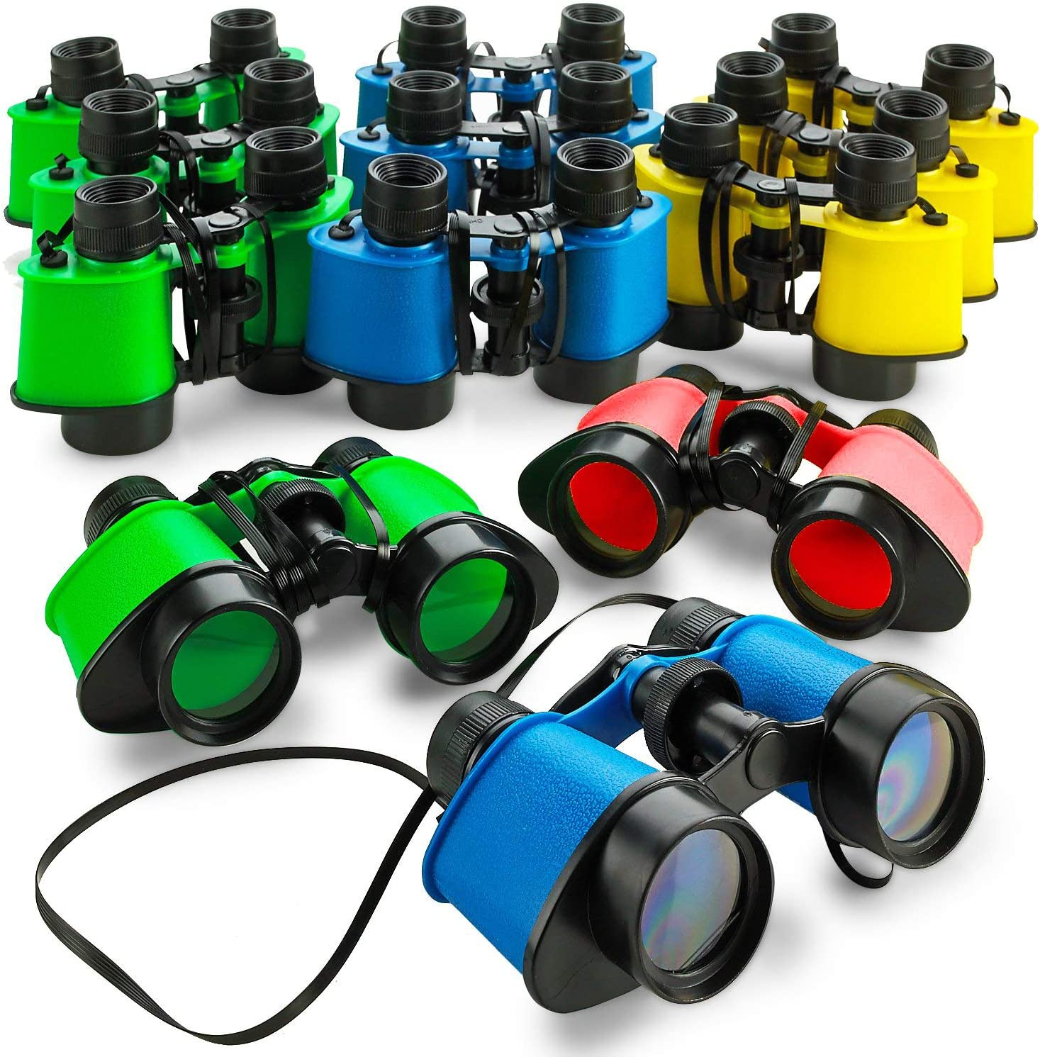 Kicko Toy Binoculars with Neck String - 5 Inch Pack Recommended Max 45% OFF 3.5 24 x