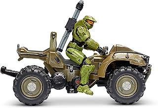 "HALO 4"""" ""World of Halo"" Figure & Vehicle – Mongoose with Master Chief, Multi (HLW0013)"