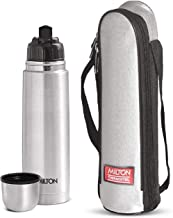 Milton Thermosteel Flip Lid Flask, 750 ml, Silver