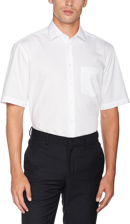 Langarm Camisa para Hombre Seidensticker Einfarbiges Schickes Hemd Mit Extra Tragekomfort Und Kent-Kragen Regular Fit