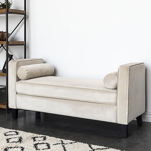 Upholstered Bedroom Bench: Amazon.com