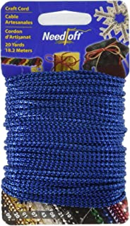 30 Ft // 9.5 Meters Navy Blue 7//16 inch Imperial II Decorative Cord Without Lip Style# 716I2NL Color: Navy Gold D/ÉCOPRO 10 Yard Value Pack of Large Gold 1152