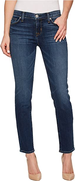 Hudson - Tally Mid-Rise Skinny Crop in Unfamed
