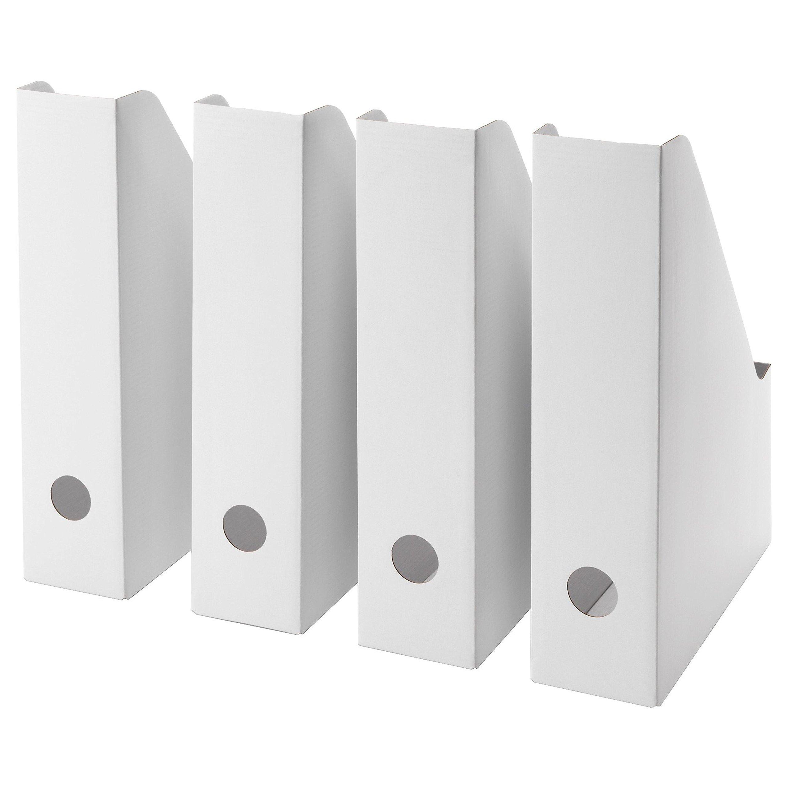 Ikea Archivador con Pano, Cartón, Blanco, 36x31x3 cm, 4 Unidades ...