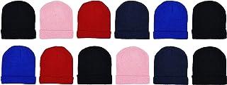 کودکان و نوجوانان زمستانی ، هدیه هدیه کودکان دختران 12 کلاه گرم و سرد