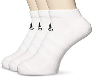 adidas Men's Cushioned Low 3-pack Socks