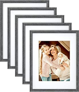 Travel Memories 8x10 w Beveled Cut Italy Picture Frame Mat Unique Gift Ideas Colored Foil Passport Postcard Stamp
