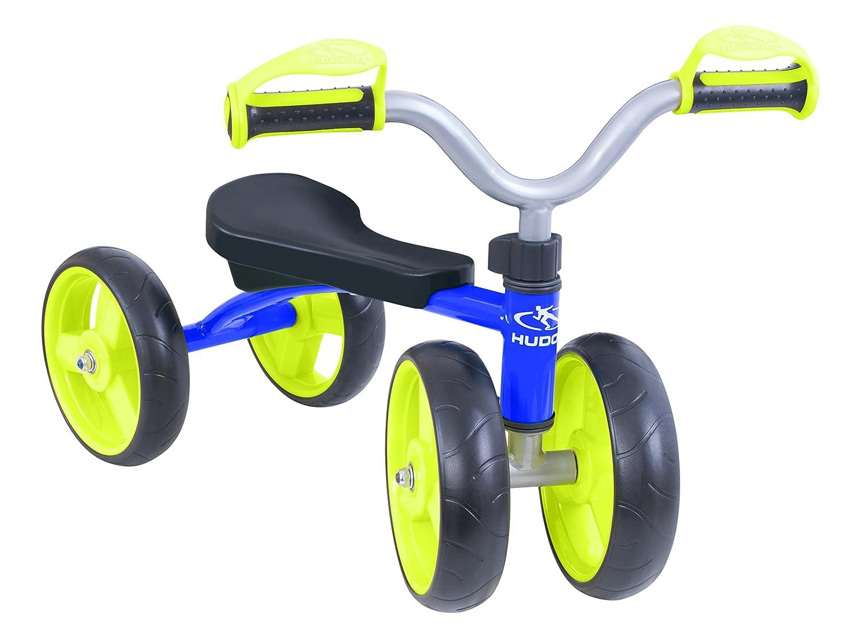 HUDORA 10345 – バランスバイク – 4輪、ブルー