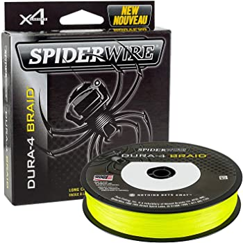 Spiderwire dura-4 Flechtleine 150m lichtdurchl/ässig 33lb//15 kg 0.17MM