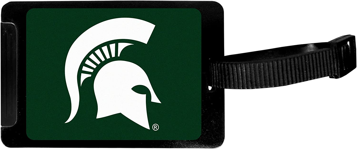 Siskiyou Sports Unisex Fees free!! NCAA Michigan Tag Luggage State Spartans Ranking TOP4