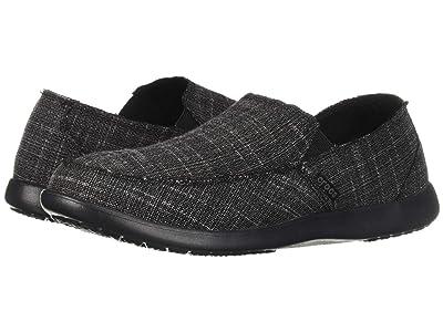 Crocs Santa Cruz SL (Black/Black) Men