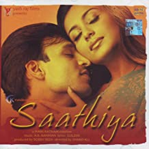 Saathiya Hindi Songs/Bollywood Music/ Film Soundtrack/Vivek Oberoi/Rani Mukharjee/A.R.Rahman/ Oscar winner for Slumdog Millionaire / Indian Music