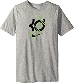 Dry KD Basketball Short Sleeve Top (Little Kids/Big Kids)