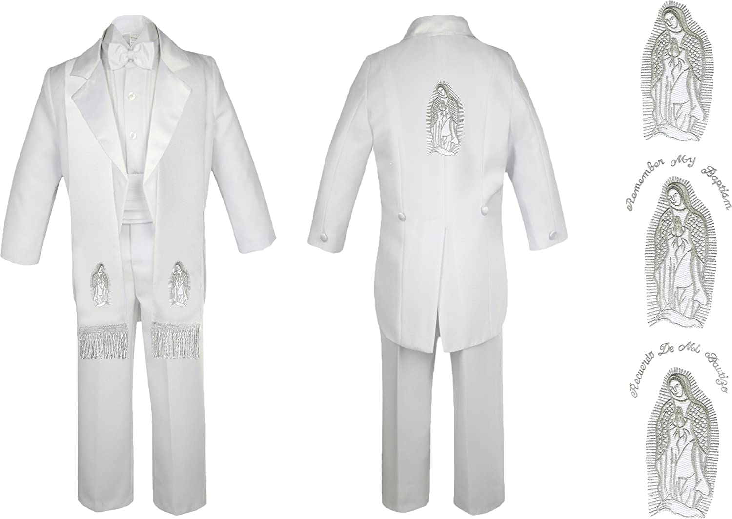 Unotux Max 73% OFF Baby Boy Christening Baptism Suit Beauty products Church Mary Tail White