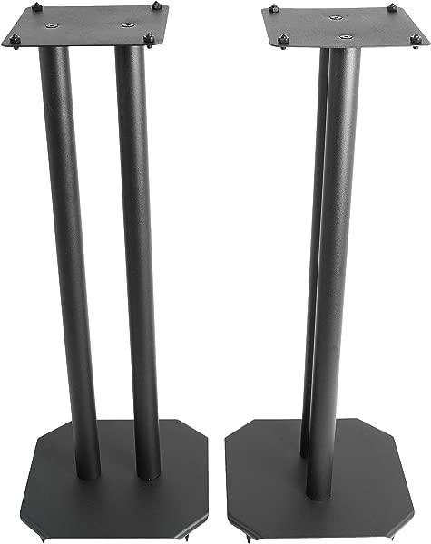 VIVO Premium Universal 25 Inch Floor Speaker Stands For Surround Sound And Book Shelf Speakers STAND SP03B