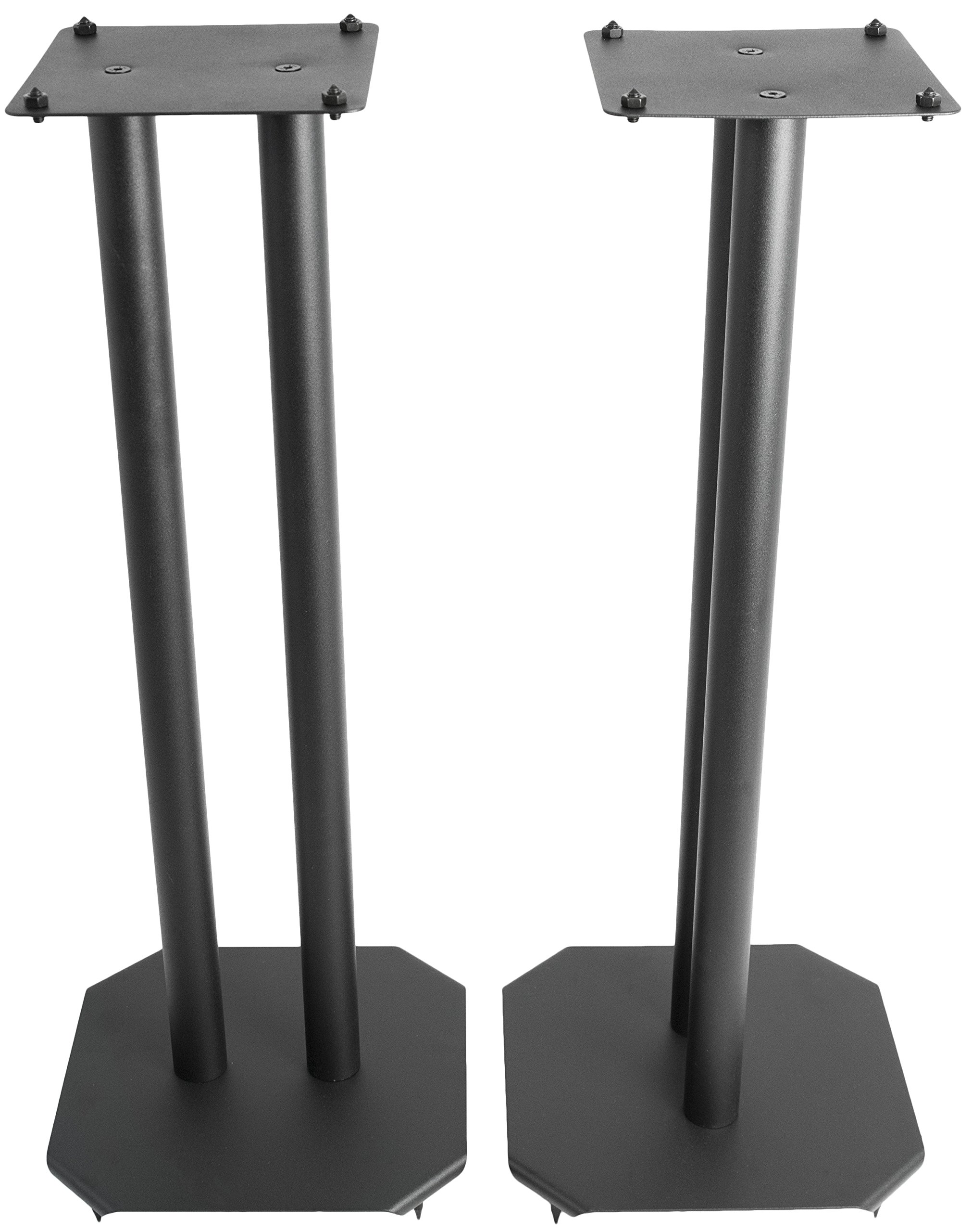 Cheap VIVO Premium Universal 25 inch Floor Speaker Stands for Surround Sound and Book Shelf Speakers (STAND-SP03B) Black Friday & Cyber Monday 2019