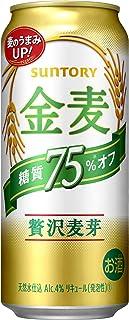 【新ジャンル/第3のビール】新・サントリー 金麦 糖質75% オフ [ 500ml×24本 ]