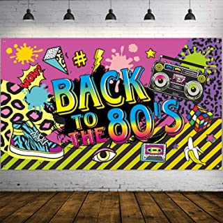 Best 80s party banner Reviews