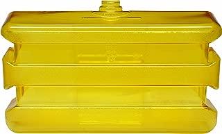 Bradley 133-140 Polycarbonate On-Site Portable Eyewash Tank, Clear/Yellow