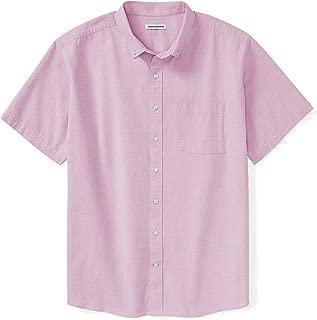Men's Big & Tall Short-Sleeve Pocket Oxford Shirt fit by DXL