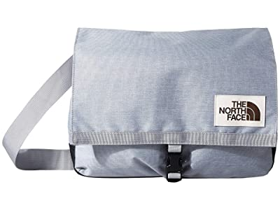 The North Face Berkeley Satchel (Mid Grey Light Heather/TNF Black Heather) Satchel Handbags