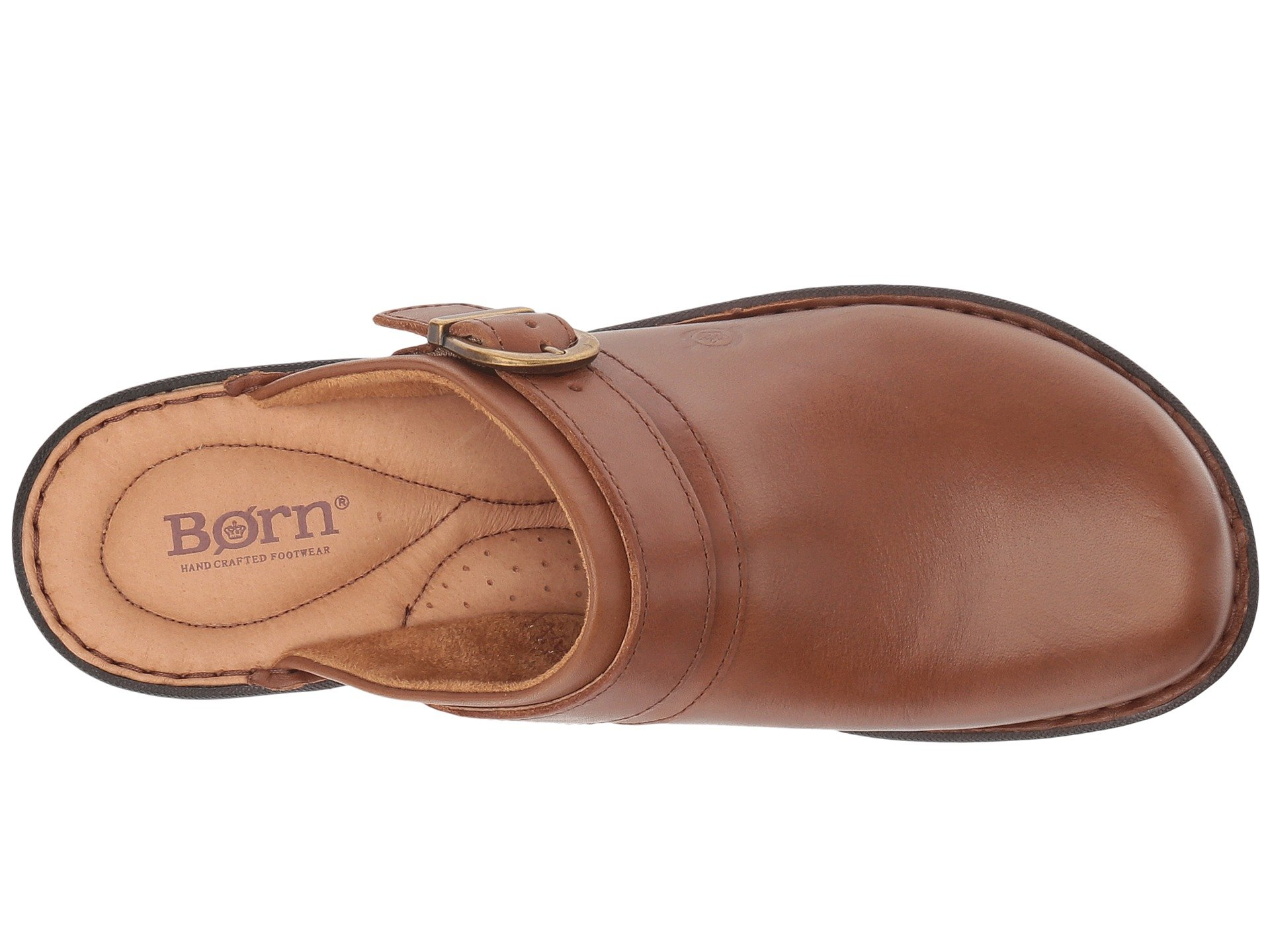 Leather cognac Full Avoca Grain Brown Born wx8qF