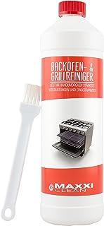 Maxxi Clean Backofen-Reiniger Gel Paste inkl. Backofen- und Grillreiniger Pinsel | löst einfach hartnäckigste Verkrustungen, reinigt selbsttätig - ohne aufheizen - ohne Gerüche
