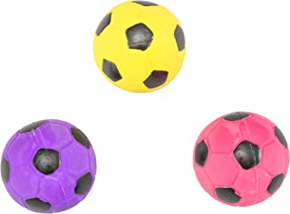HDP Spot Soccer Latex Ball Dog Toy