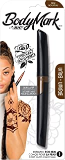 BIC BodyMark Temporary Tattoo Marker, 1-Count (Brown) Sold by RvLoversOutdoorDreamers