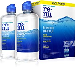 Contact Lens Solution by Renu, Multi-Purpose Disinfectant, Advanced Formula Kills 99.9%..