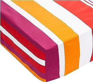 Elegancia Multi Double Size (224 X 240) Velvet Fitted Bedsheet - 4 Piece Set (Multi Color)