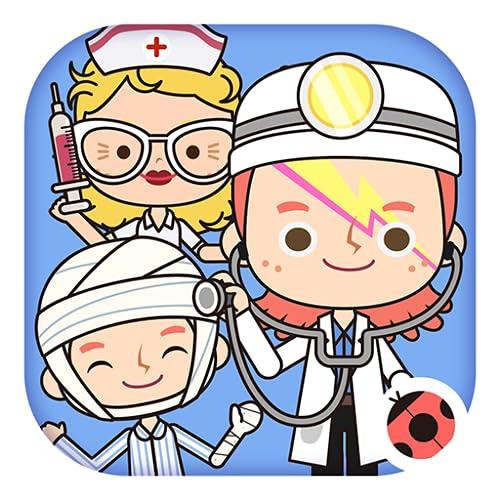 Miga Stadt: Krankenhaus-Kinder Rollen-spiel -- Doktor