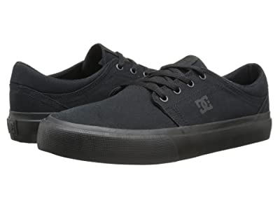 DC Trase TX (Black/Black/Black) Skate Shoes