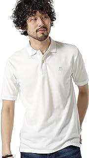 ナノ?ユニバース(nano?universe) ソリッドカラー刺繍ポロシャツSS