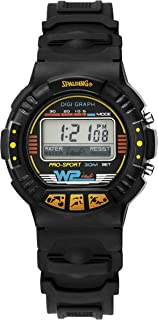 Spalding Men's Digital Watch with Plastic Strap SP00009