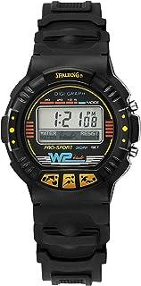 Spalding Men's Digital Watch with Plastic Strap SP00009