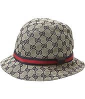 Gucci Kids - Double G Bucket Hat (Little Kids/Big Kids)