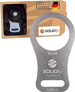 SOLIDfy®   AdBlue Verschluss Sicherung aus Edelstahl für Ducato, Jumper, Boxer