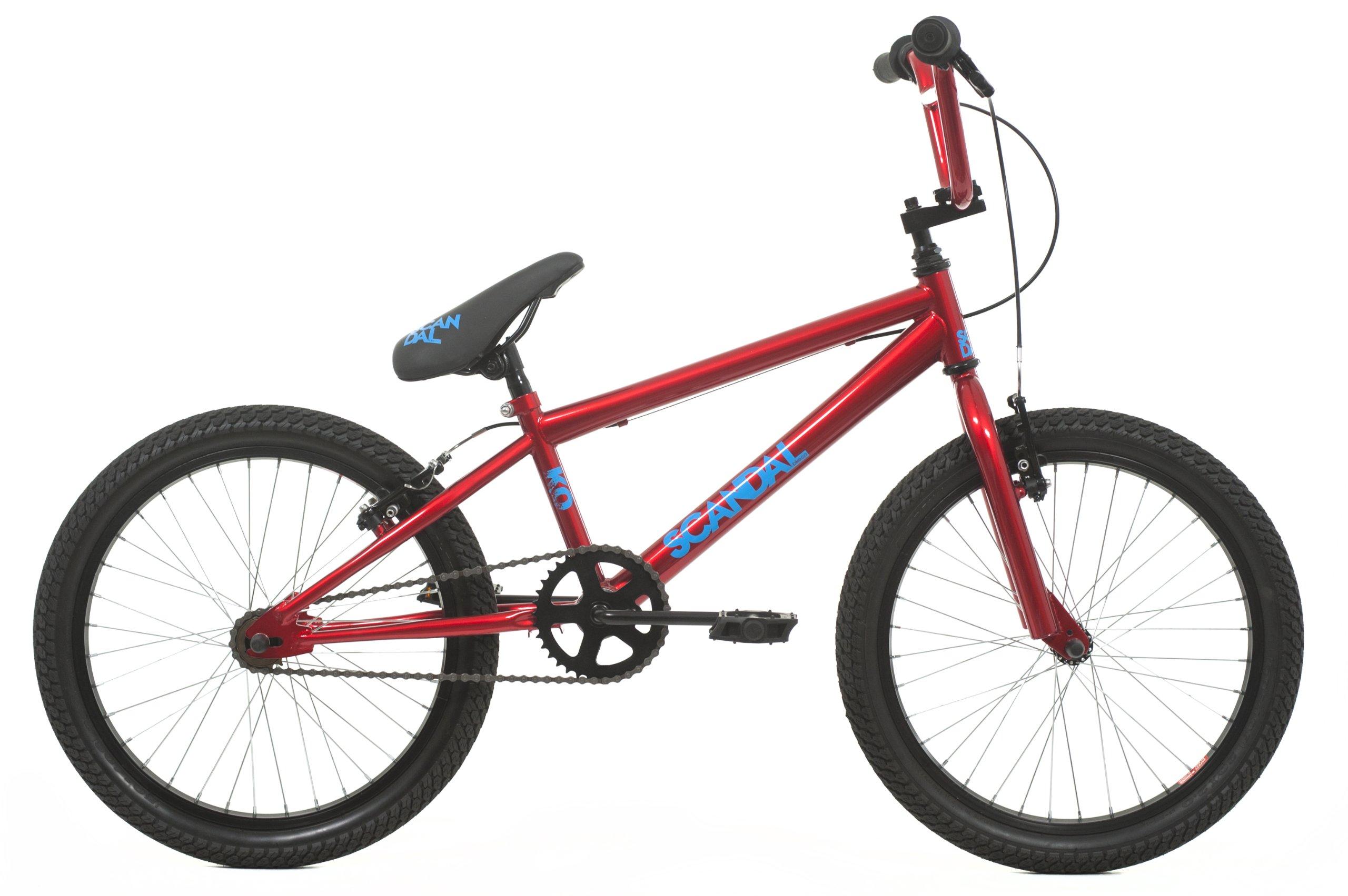 Raleigh KO - Bicicleta Infantil BMX para niño, para Todas Las Medidas a Partir de 135 cm, Color Rojo: Amazon.es: Deportes y aire libre