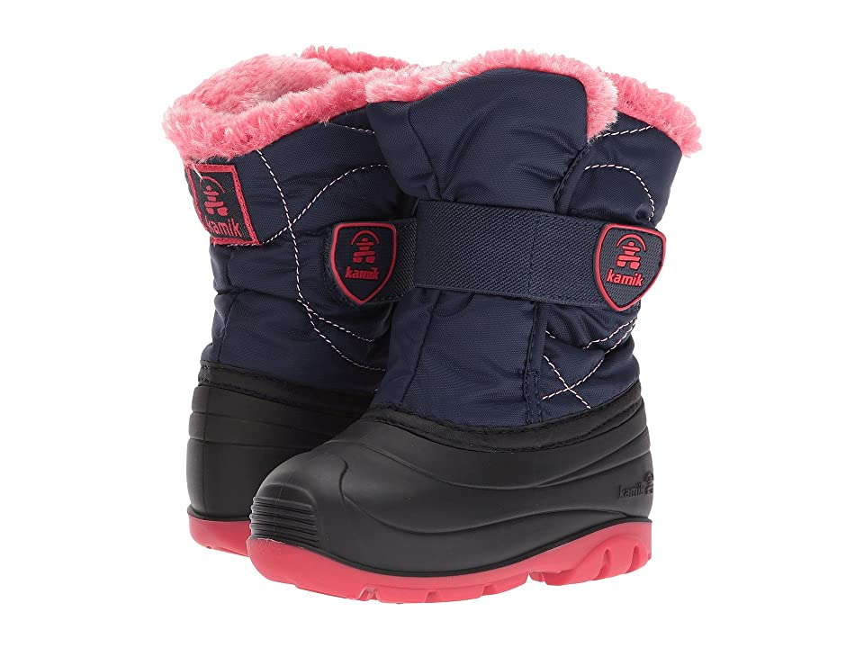 Kamik Kids Snowbugf (Toddler) (Navy) Girl
