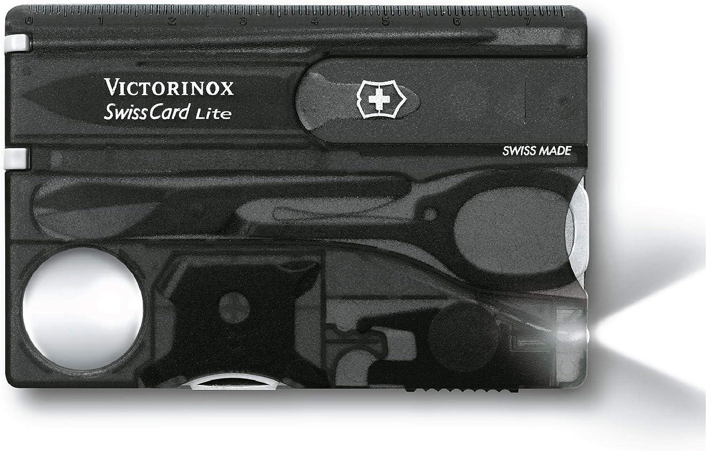 Victorinox Men's Max 49% OFF Taschenwerkzeug Swisscard Knif Lite Onyx Pocket Las Vegas Mall