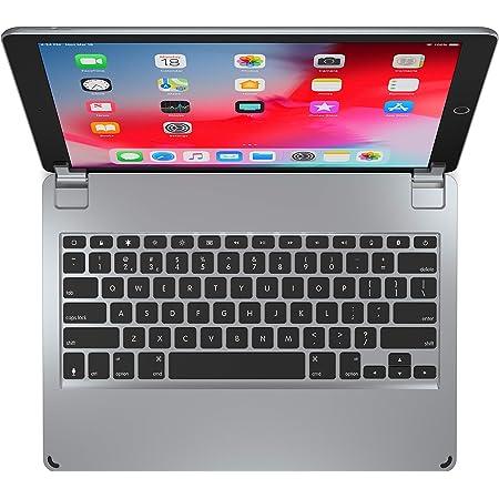 Brydge Teclado QWERTY de 12.9 EE.UU. para iPad Pro de 12.9 pulgadas | SOLO modelos 2017/2015 | Teclado inalámbrico Bluetooth de aluminio con teclas ...