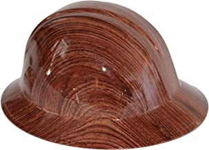 wood grain hat