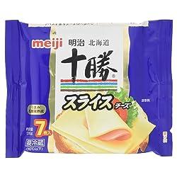 [冷蔵] 明治 明治北海道十勝スライスチーズ 7枚入 126g