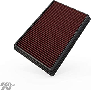 K&N Engine Air Filter: High Performance, Premium, Washable, Replacement Filter: 2002-2019 Dodge Ram Truck V6/V8/V10 (1500, 2500, 3500, 4500, 5500), 33-2247