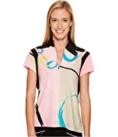 Jamie Sadock - Hugs and Kisses Print Short Sleeve Top