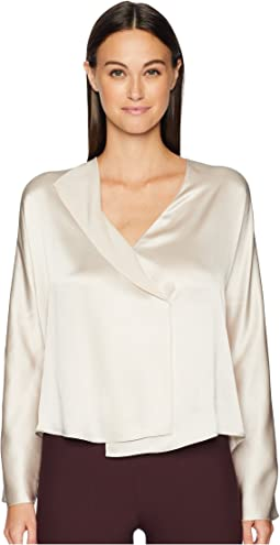 Drape Panel Blouse