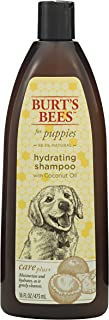 Burt's Bees For Puppies Care Plus Natural Hydrating Shampoo With Coconut Oil | Puppy and Dog Shampoo, 16 Ounces