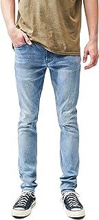 Men's Light Stacked Skinny Jeans
