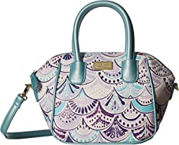 Quinn Mini Size PVC Satchel